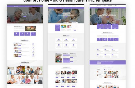 Old & Health Care HTML Template