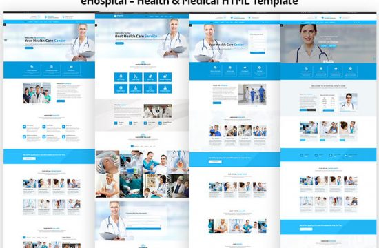 Health Care & Medical HTML Template