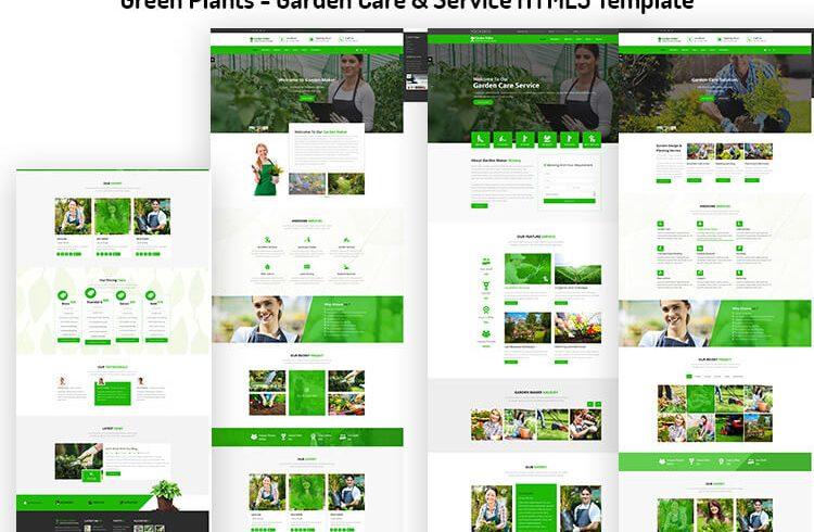 Garden Care & Service HTML5 Template