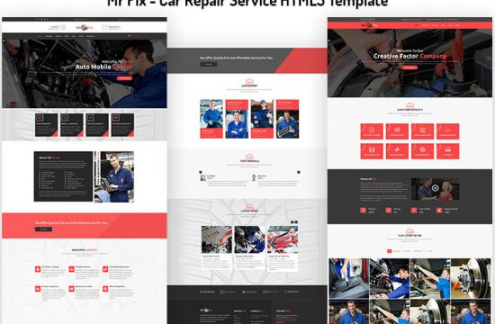 Car Repair Service HTML5 Template