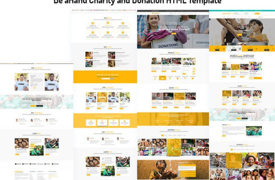 Charity and Donation HTML Template