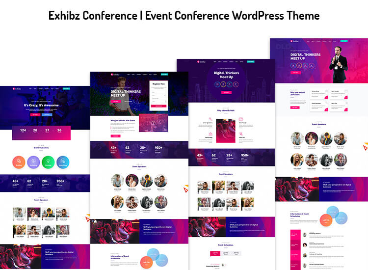 Exhibz Conference | Event Conference WordPress Theme