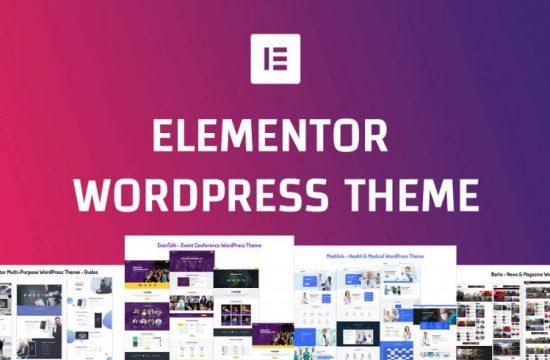 Best Elementor wordpress theme - Unlock Design