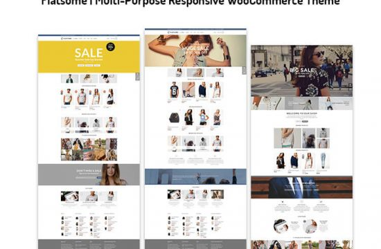 Multi-Purpose Responsive WooCommerce Theme