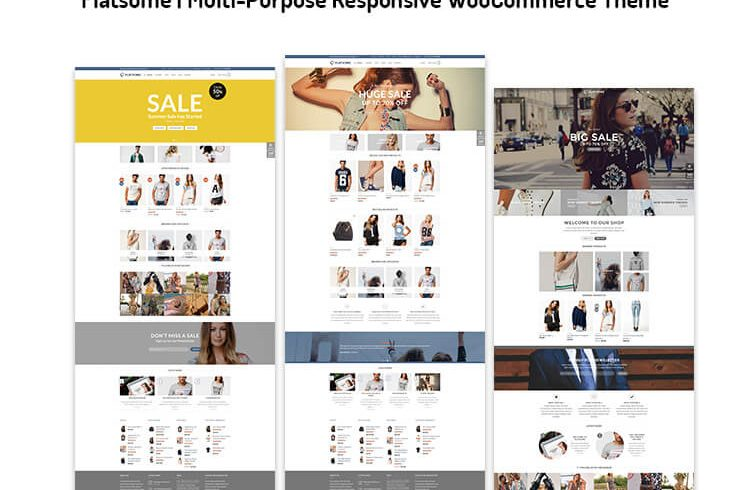 Multi-Purpose Responsive WooCommerce Theme