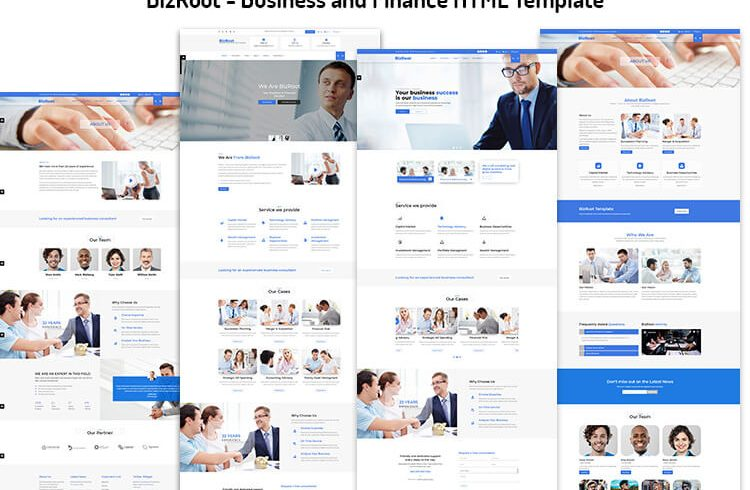 Business and Finance HTML Template