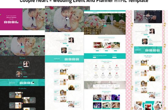 Wedding Event And Planner HTML Template