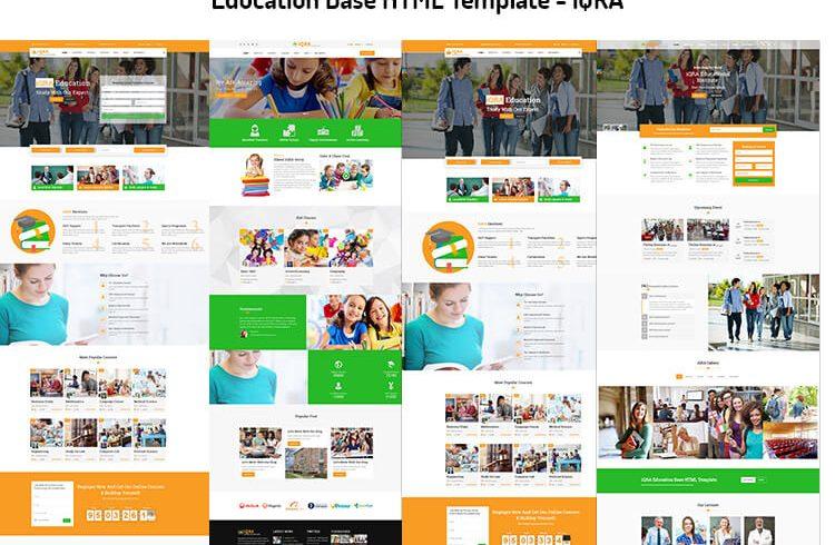 Education Base HTML Template