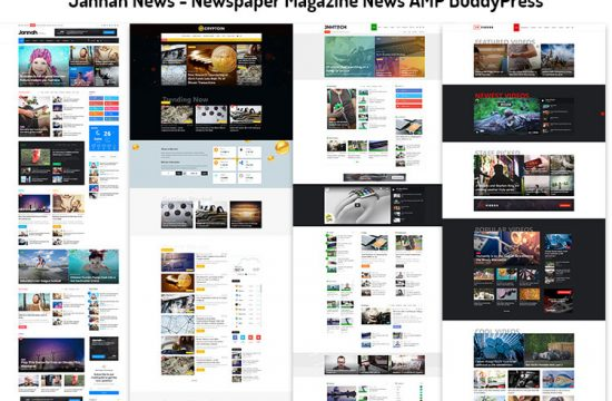 Newspaper Magazine News AMP BuddyPress