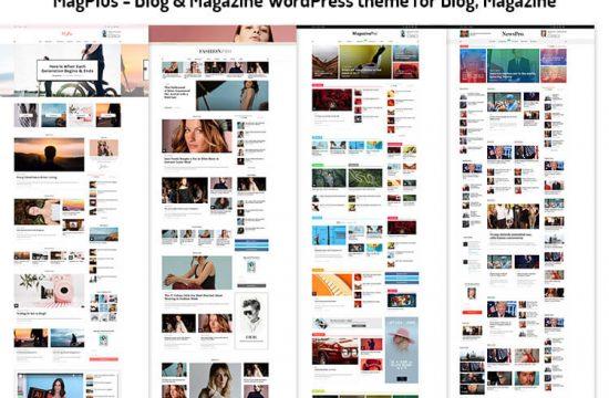 Blog & Magazine WordPress theme for Blog, Magazine