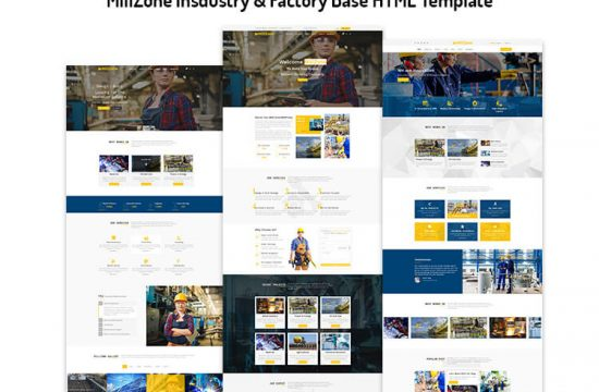 Insdustry & Factory Base HTML Template