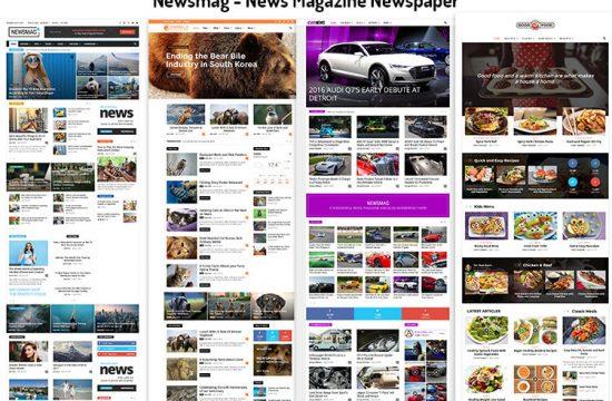 News Magazine Newspaper
