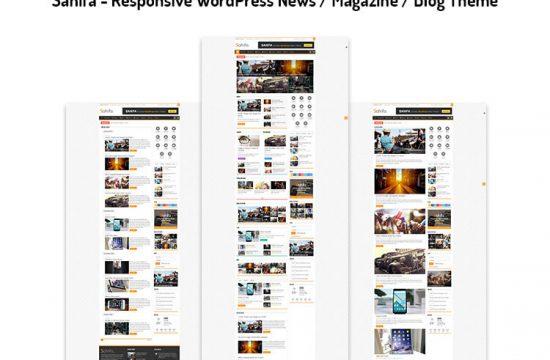 Responsive WordPress News / Magazine / Blog Theme