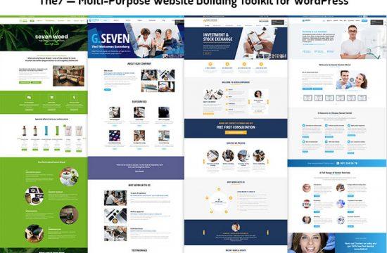 Multi-Purpose Website Building Toolkit for WordPress