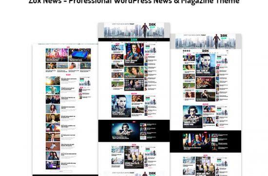 Professional WordPress News & Magazine Theme